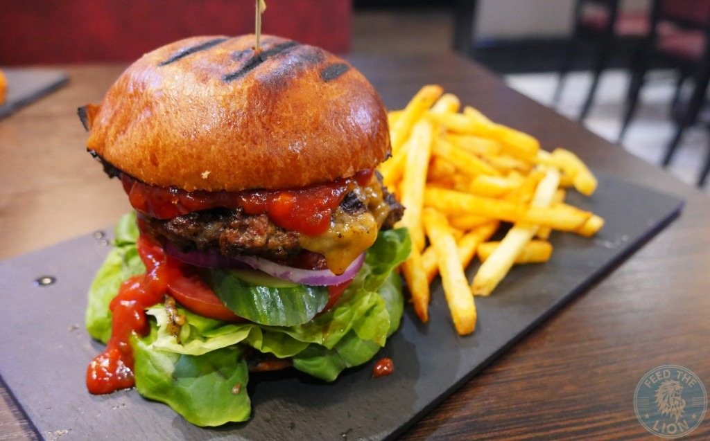 Sea Fire Grill - Steak & Seafood, Camden halal burger hmc Spicy Mexican