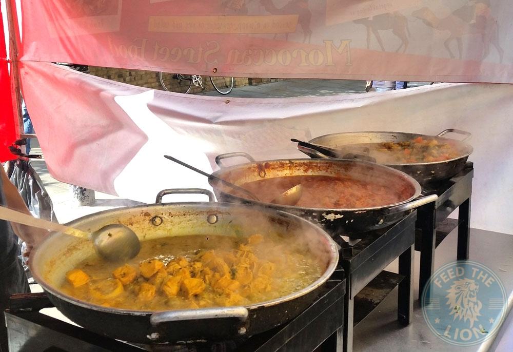 Morrocan Street Food - Petticoat Lane Market