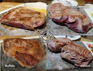 buffalo Steak Inn Watford Italiano venison beef burger pizza halal lama ostrich drinks non alcohol wine beer