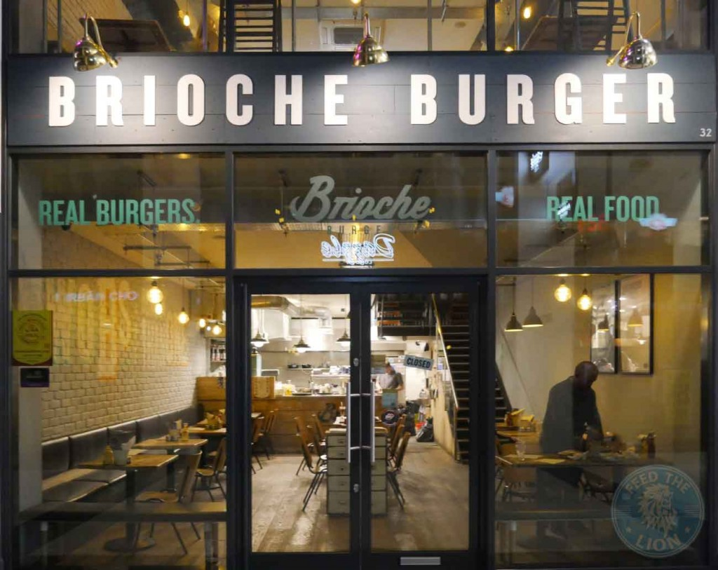 Brioche Burger Gourmet Halal East London Ham Green Street