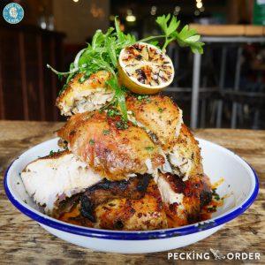 Pecking Order Stanmore chicken rotisserie