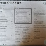 Pecking Order Stanmore chicken menu