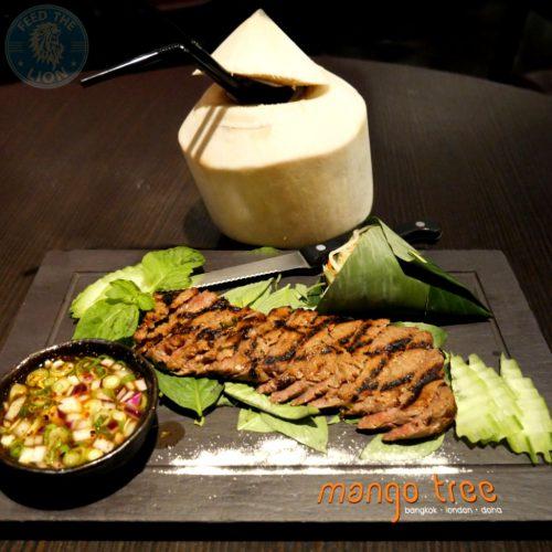Mango Tree London Victoria halal steak wagyu