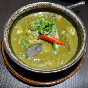 Mango Tree London halal green curry