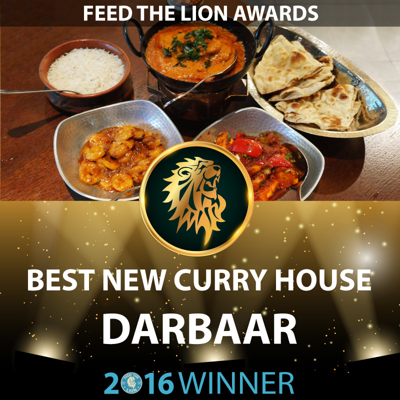 ftl feed the lion halal awards 2016 winners new curry house Darbaar Abdul Yaseen Darbaar
