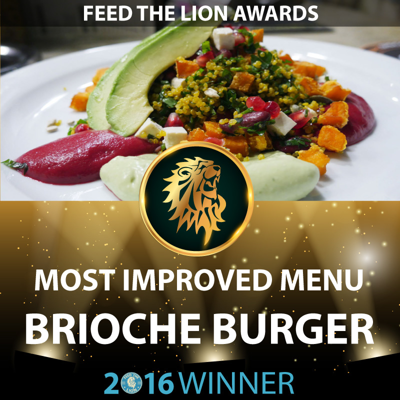 ftl feed the lion halal awards 2016 winners brioche burger improved menu