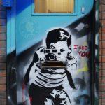 street art band of burgers Brick Lane Whitechapel Camden Halal Burger