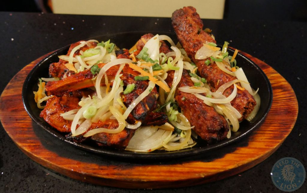 kebab chops Chilli Spice Surrey Camberley Indian curry