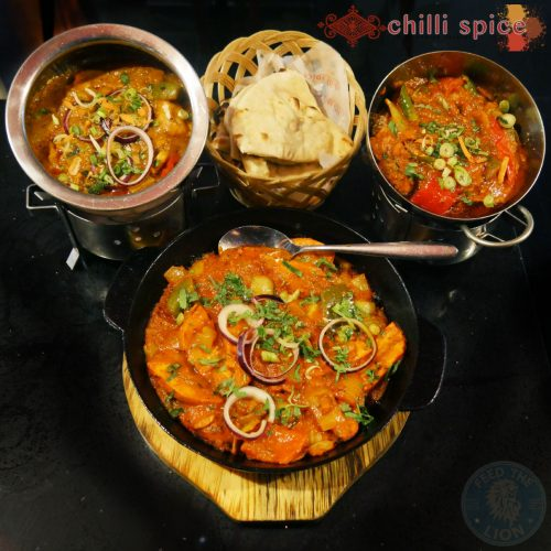 Chilli Spice Surrey Camberley Indian curry GU15 Food Halal