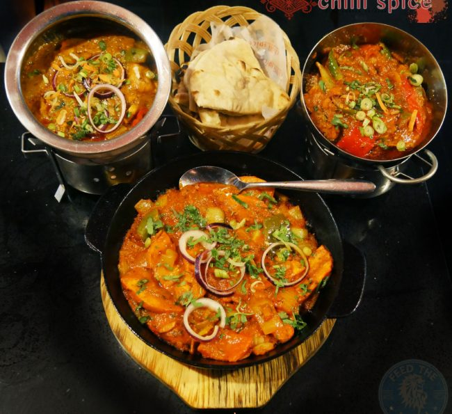 Chilli Spice Surrey Camberley Indian curry GU15 Food Halal