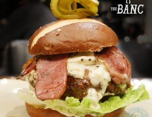 The Banc Tottenham Burger Steak