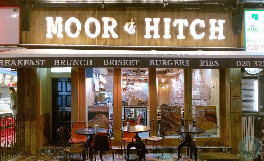 slow cooked rib Moor & Hitch Queensway Halal Southern smoked bbq Steak Ribs Burger Breakfast