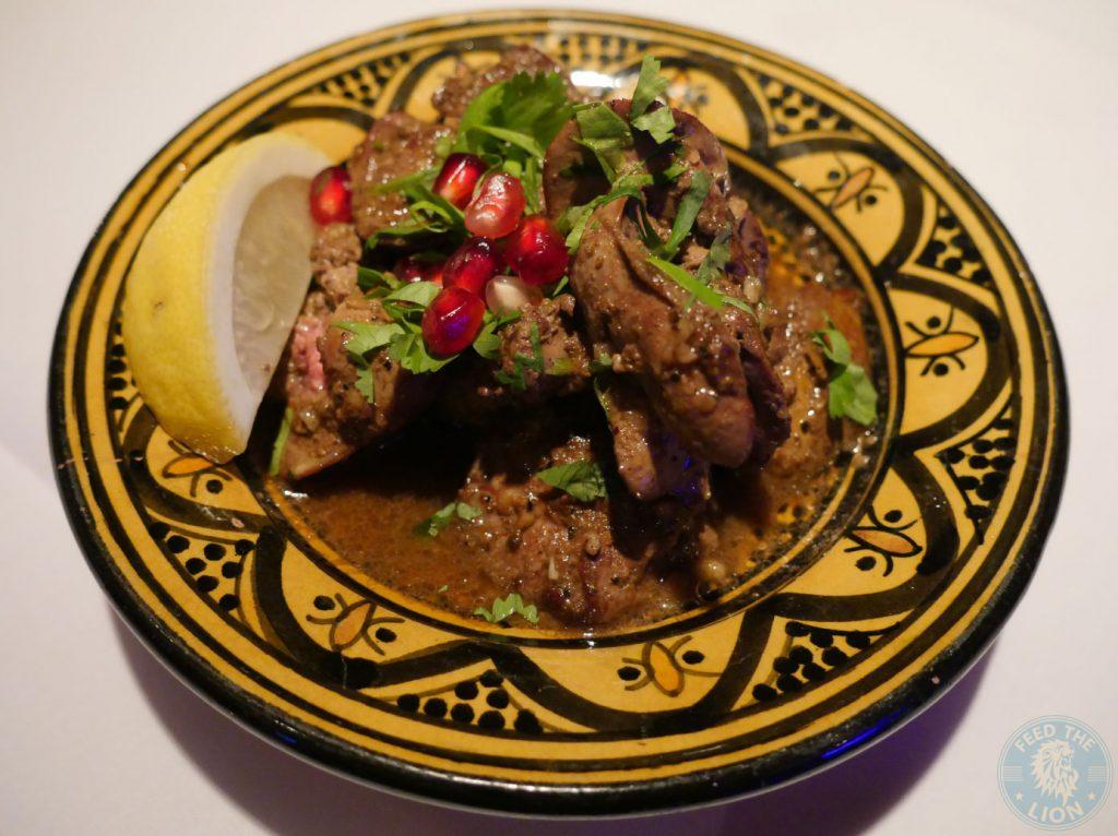 Chicken Liver Zenobi London Lebanese Restaurant Halal South Kensington