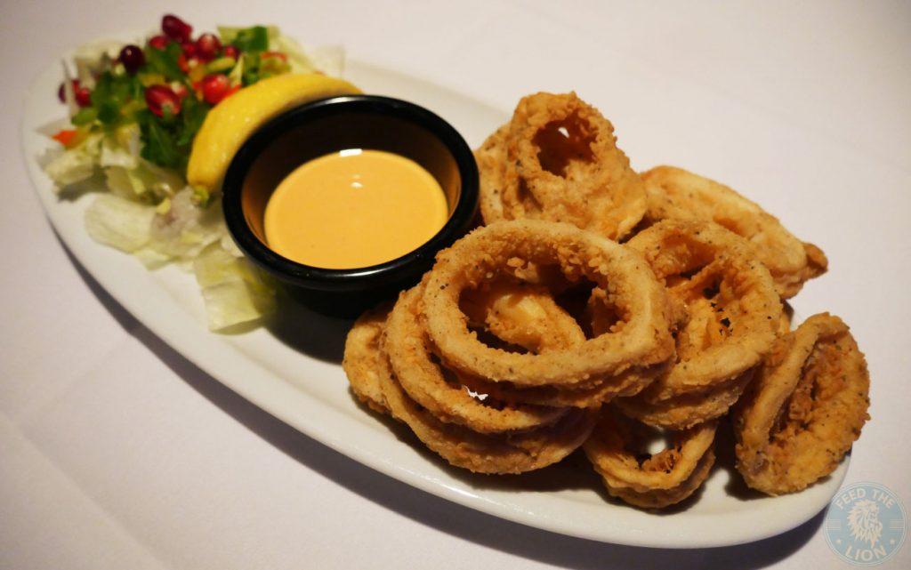 calamari Zenobi London Lebanese Restaurant Halal South Kensington