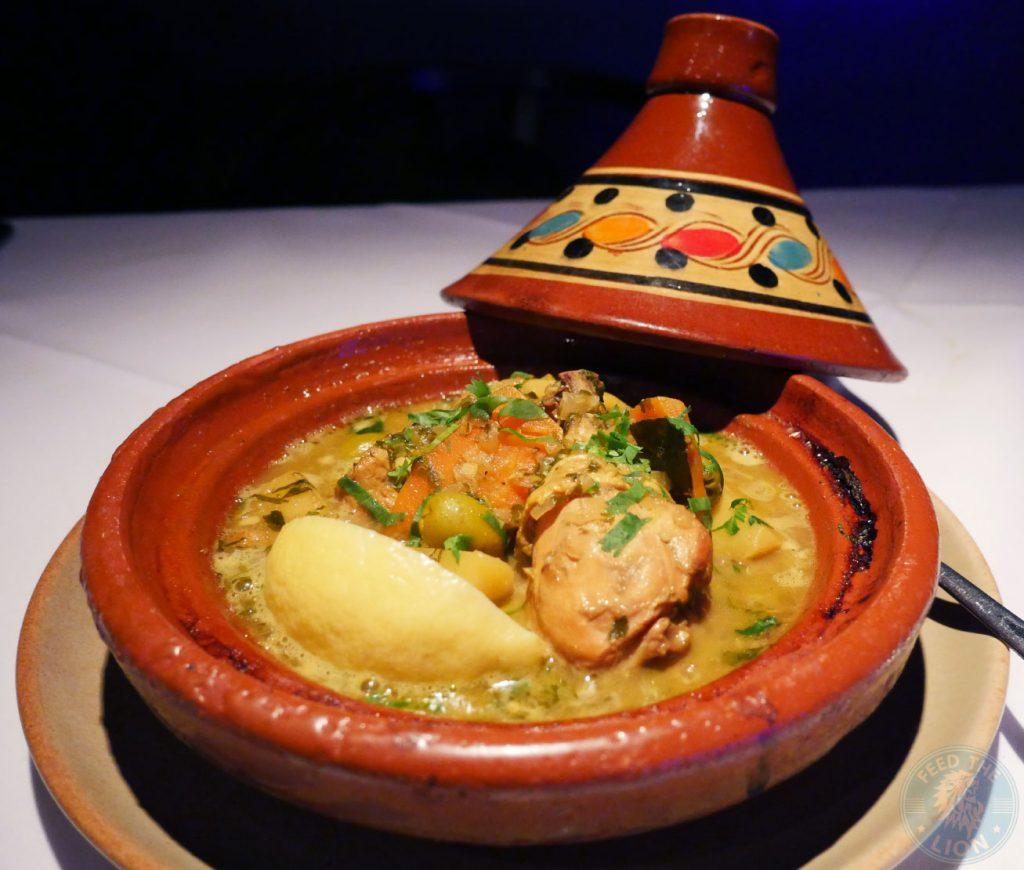 Chicken Tagine Zenobi London Lebanese Restaurant Halal South Kensington