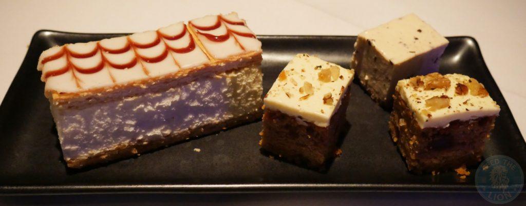 cake Zenobi London Lebanese Restaurant Halal South Kensington