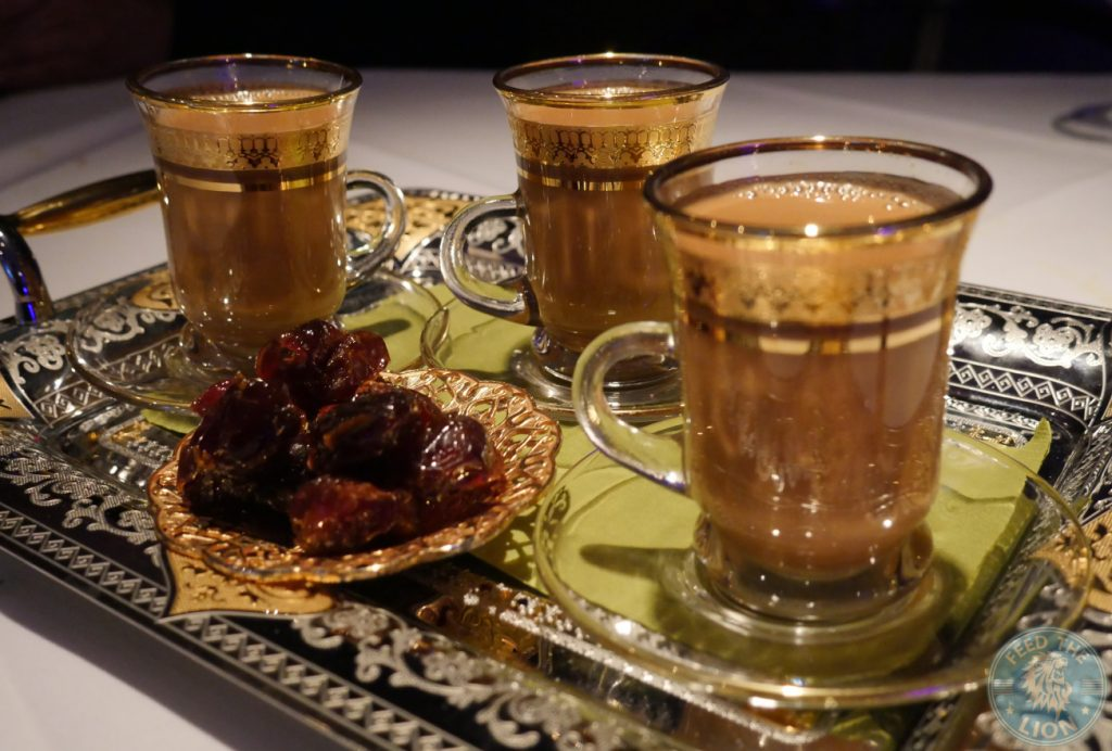 tea Zenobi London Lebanese Restaurant Halal South Kensington