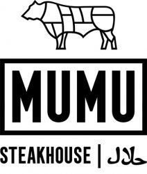 logo MUMU Steakhouse Burger Manchester Halal Preston