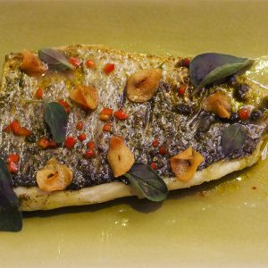 Sea Bass Ceru Levant South Kensington Halal Mediterranean