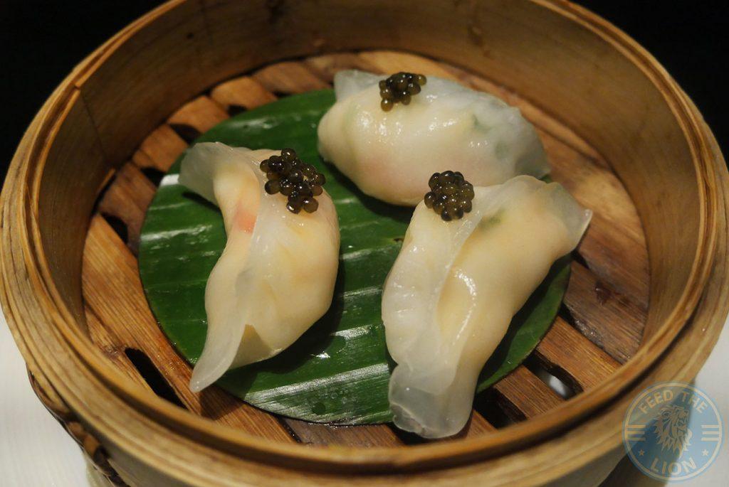 dim sum dumpling Chai Wu Chinese Harrods Halal Fine Dining
