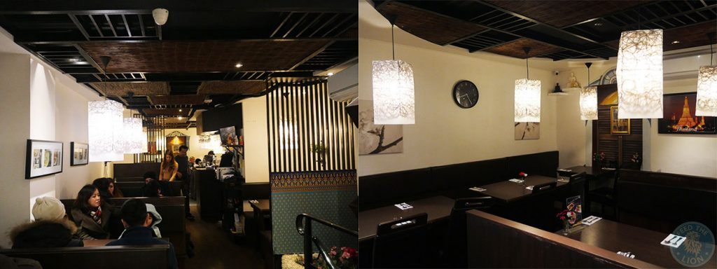 decor Horapha Thai Cuisine Queensway Halal London Restaurant
