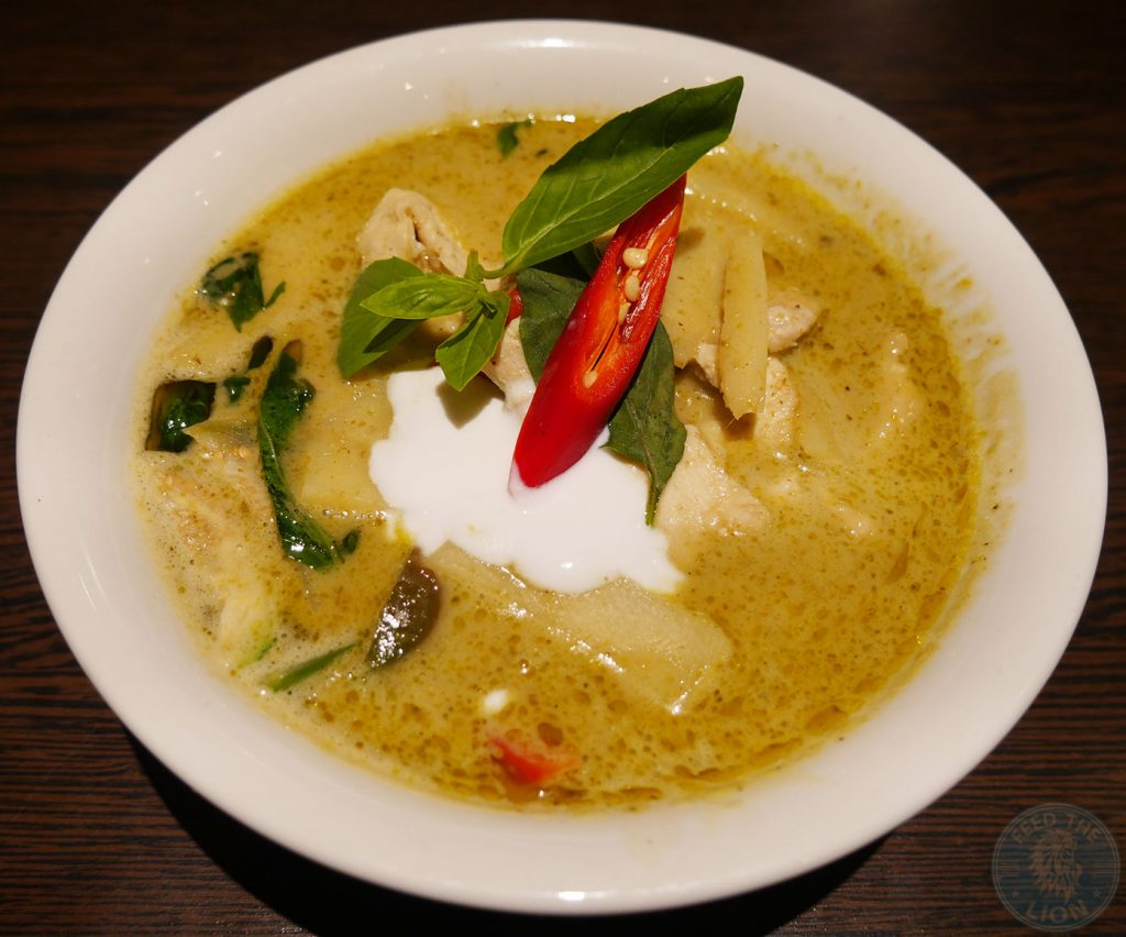 green curry Horapha Thai Cuisine Queensway Halal London Restaurant