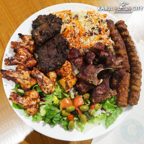 Kabul City restaurant Edgware Afghan Halal kebab