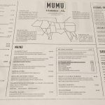 menu MUMU Steakhouse Burger Manchester Halal Preston