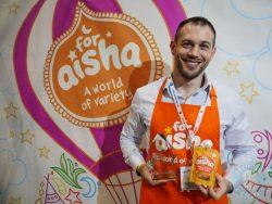 aisha halal food IFE (The International Food & Drink Event) 2017