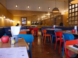 ealing decor Gourmet Burger Kitchen GBK Chicken Halal