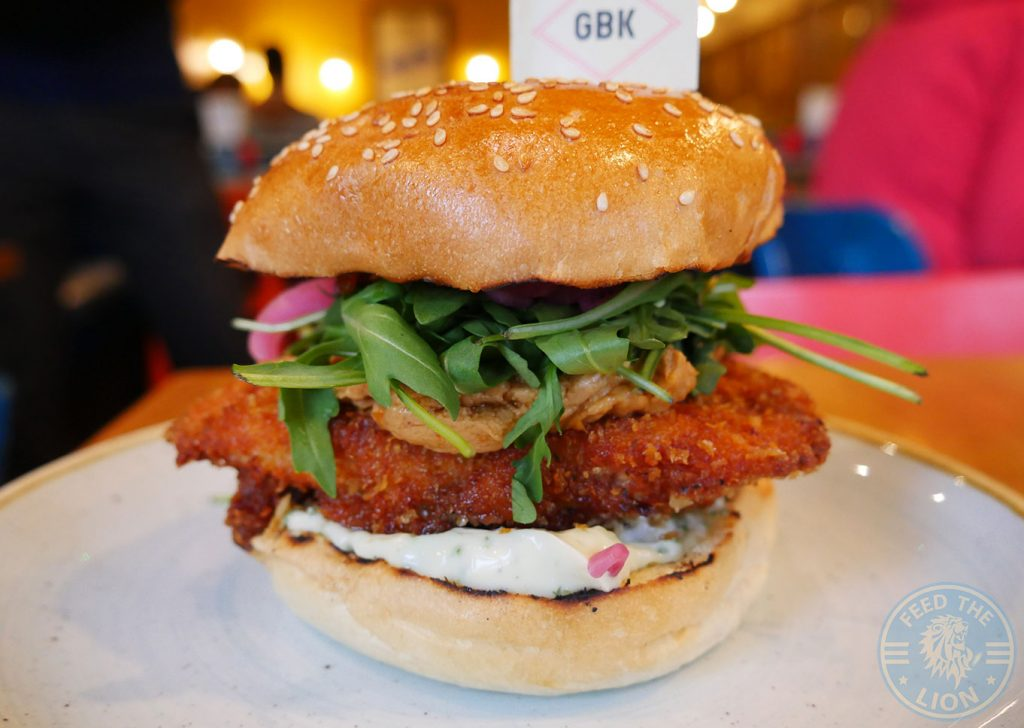 Gourmet Burger Kitchen GBK Chicken Halal
