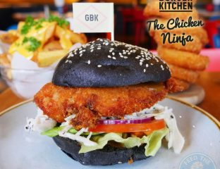 GBK Gourmet Burger Kitchen Chicken Ninja Halal