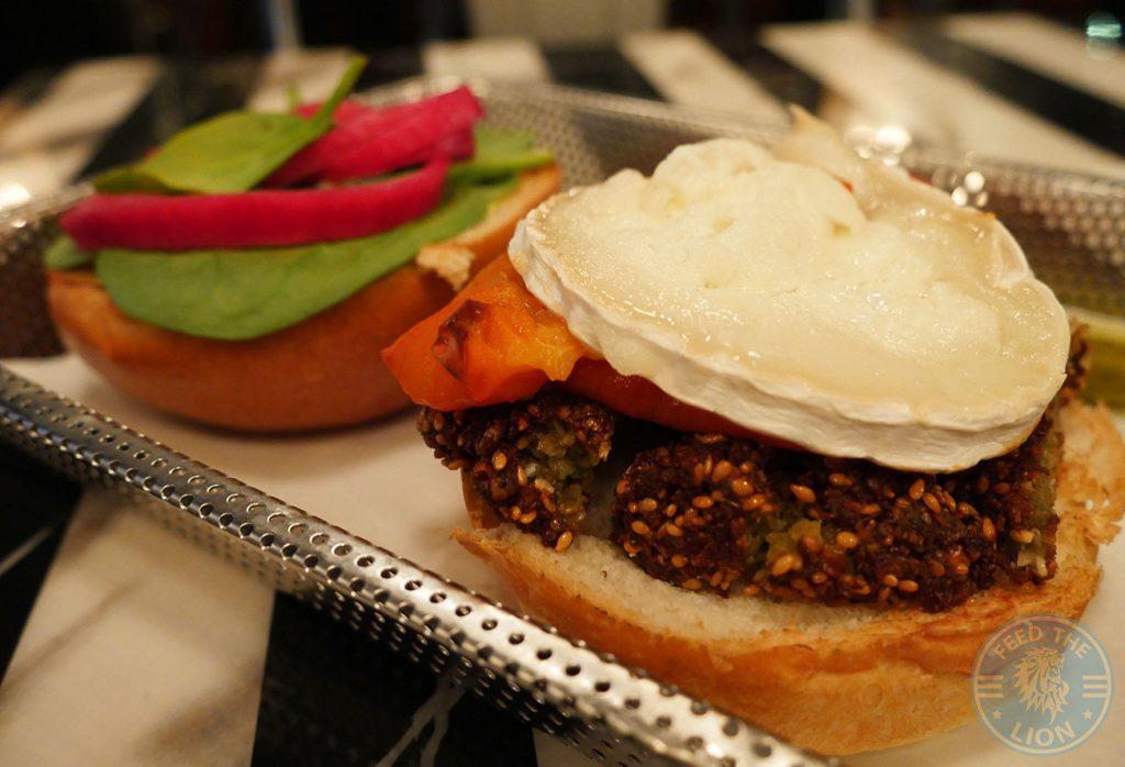 vegi vegan vegetarian GG's London Hayes Gourmet Burger Grill Halal
