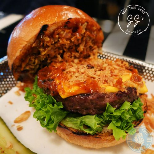 GG's Gourmet & Grill – Hayes burger