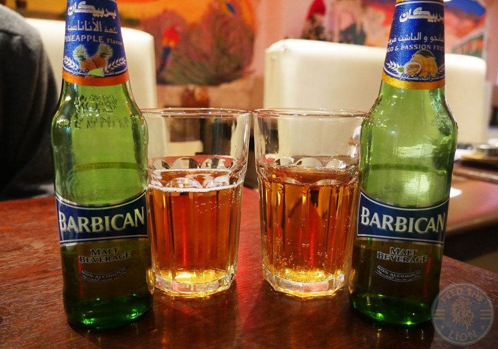 non alcoholic beer drink Hermanos Mexican Halal Wembley Gourmet Burger Peri Grill