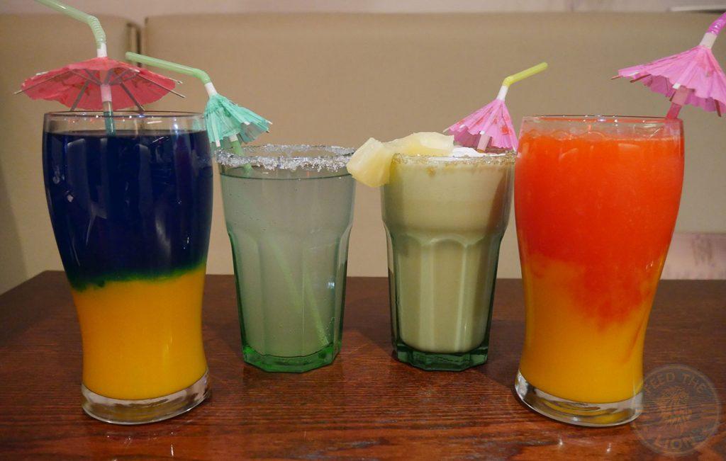 drinks cocktails mocktails Hermanos Mexican Halal Wembley Burger
