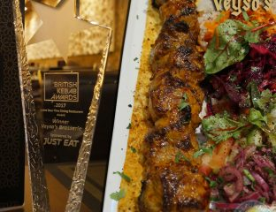 British kebab award, Veysos Kebab Turkish Hatfield Halal