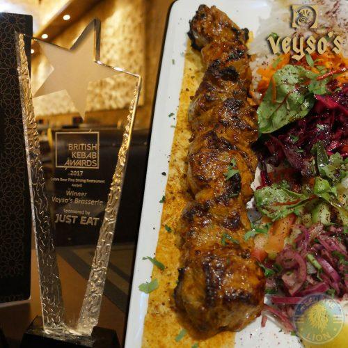 British kebab award, Veysos Kebab Turkish Hatfield Halal