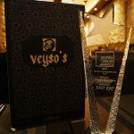 british award Veysos Kebab Turkish Hatfield Halal