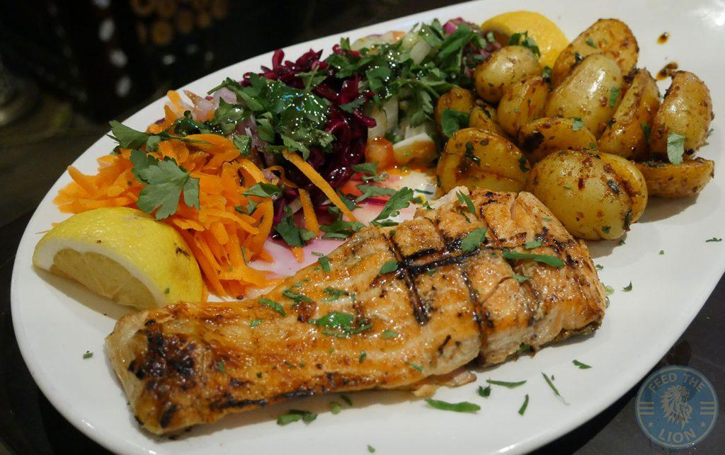 salmon Veysos Kebab Turkish Hatfield Halal