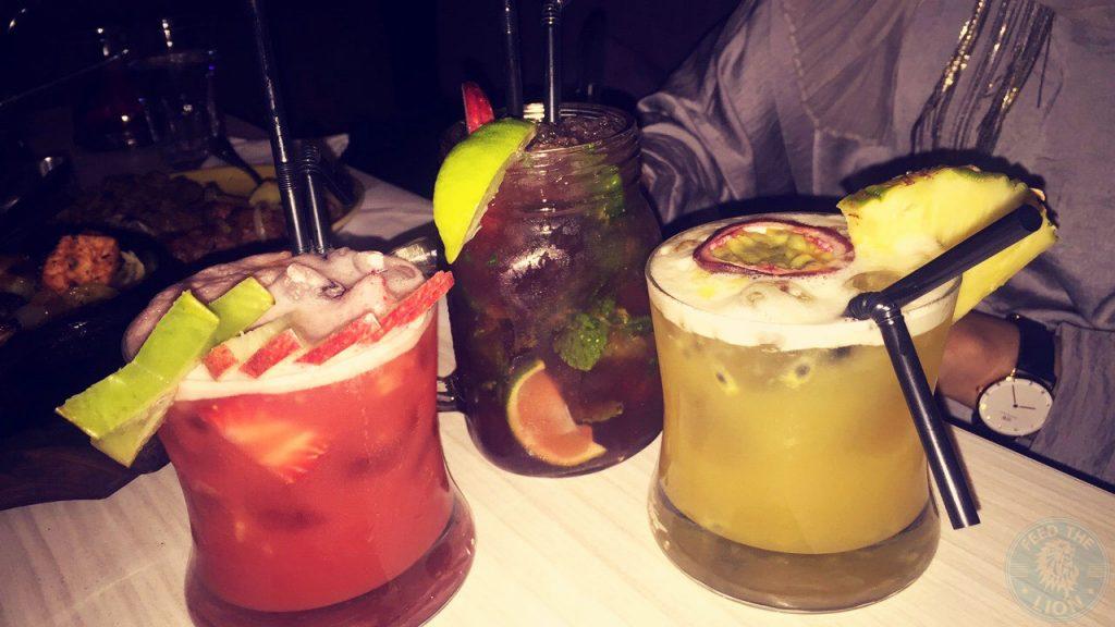 Scene Indian Restaurant Manchester Halal Food drinks mocktails