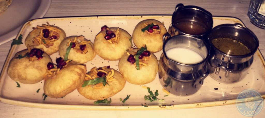 Scene Indian Restaurant Manchester Halal Food pani puri
