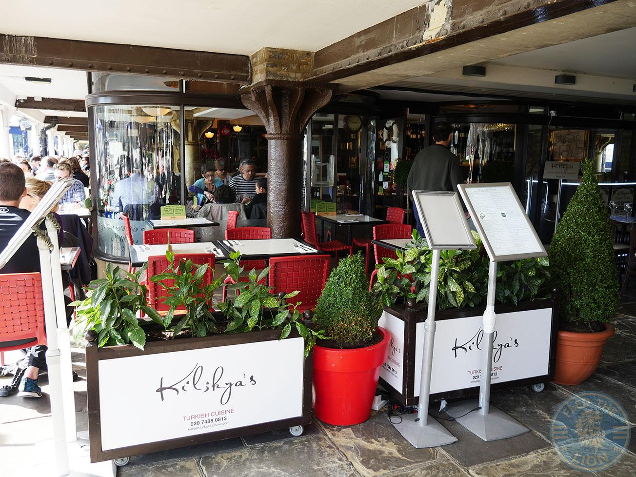 Restaurants Around St Katherines Dock