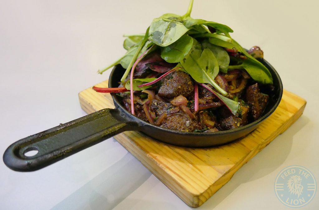 lamb liver Skewd Kitchen Turkish Halal Cockfosters