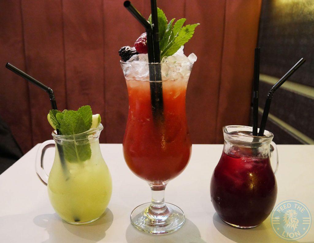 Lemonade Berry Pomegranate drink kebab Skewd Kitchen Turkish Halal Cockfosters