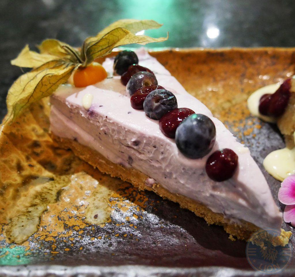 blueberry cheesecake Skewd Kitchen Turkish Halal Cockfosters