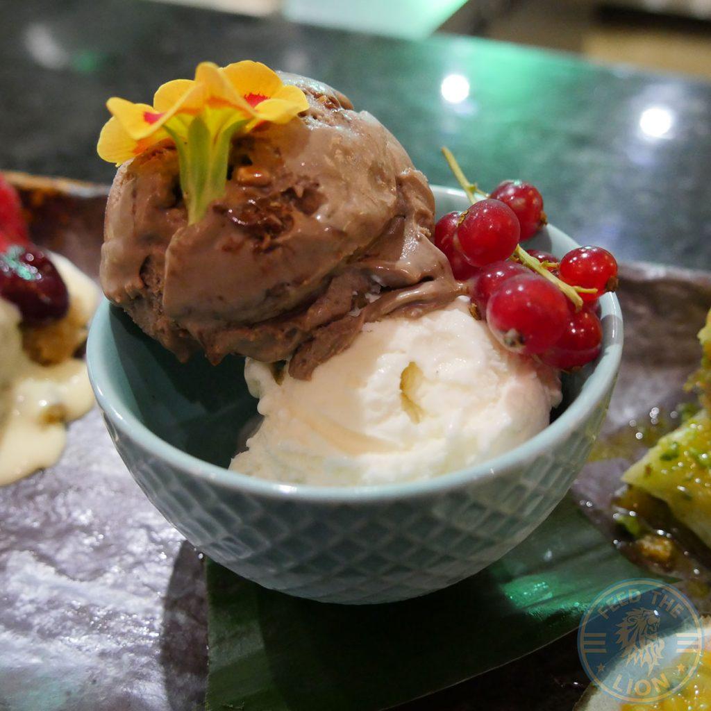 ice cream chocolate mastika Skewd Kitchen Turkish Halal Cockfosters