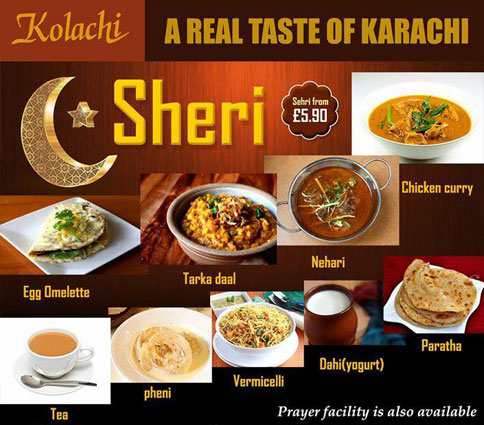 Kolachi Restaurant London Buffet