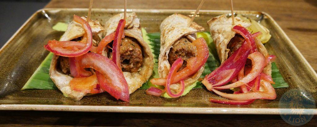Seekh paratha Chai Naasto Indian Street food Halal Hammersmith