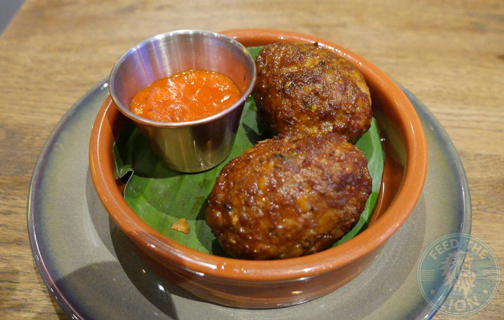 quail eggs kofta Chai Naasto Indian Street food Halal Hammersmith